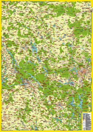 Landkarte Ermland/Oberland