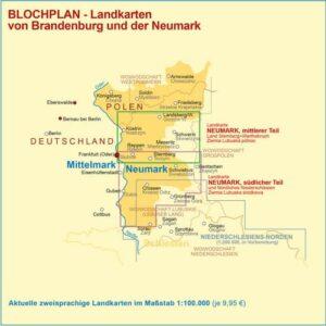 Landkarten Neumark