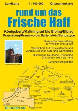 Landkarte Frisches Haff