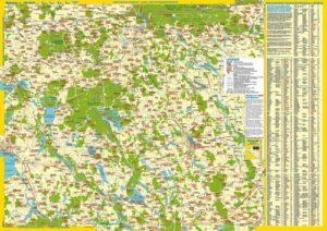 Landkarte Ost-Masuren