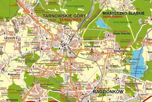 Ausschnitt Tarnowitz