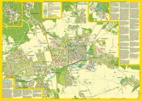 Stadtplan Bernau Planseite mit aktuellem Plan