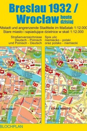 Stadtplan Breslau 1932/Wrocław