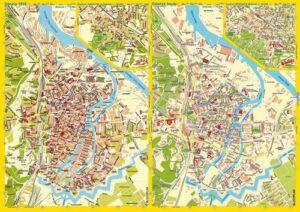 Stadtplan Danzig 1938/Gdańsk