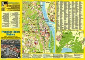 Stadtplan Frankfurt (Oder) und Słubice