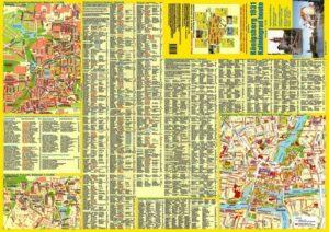 Stadtplan Königsberg 1931/Kaliningrad heute