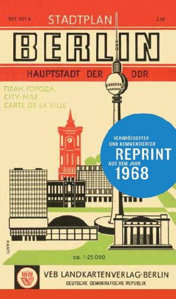 Historischer Stadtplan Berlin 1968
