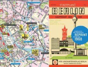 Stadtplan-Reprint: Berlin, Hauptstadt der DDR 1968