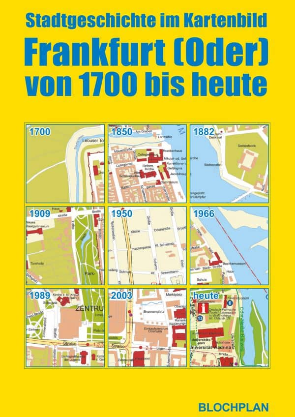 Stadtplan Mappe Frankfurt Oder